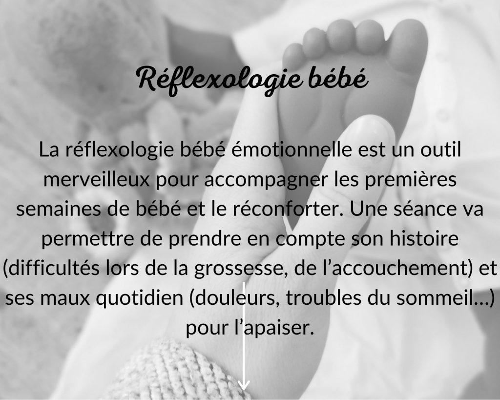 Réflexologie bébé DouceHeure